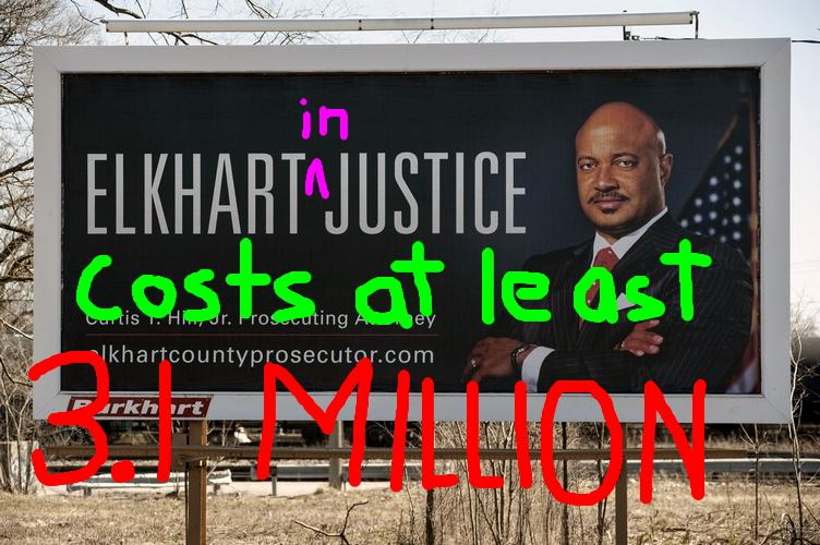 Curtis Hill Elkhart Costs