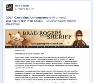 Brad Rogers Facebook