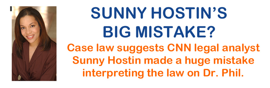 Sunny-Hostin-Mistake